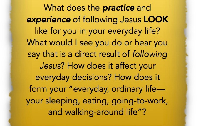 My Jesus Question